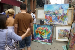 Date Your City | Washington Square Art Exhibit