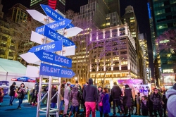 Date Your City | Bryant Park Winter Carnival